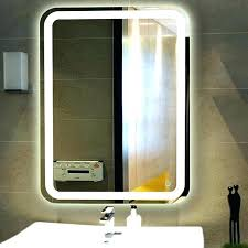 wall mounted makeup mirror with lights wade led lighted wall mount