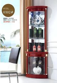 Corner Cabinet Shelving Unit Enchanting Decoration Modern Living Room Furniture Corner Cabinet Round