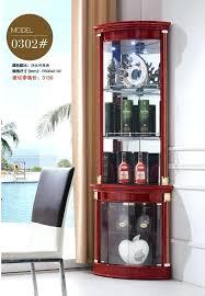 Corner Cabinet Shelving Unit Enchanting Decoration Modern Living Room Furniture Corner Cabinet Round