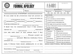 Template For Apology Letter Mitocadorcoreano Com