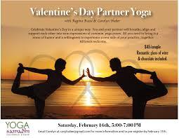 valentine s day partner yoga