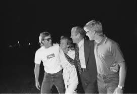 Photograph of Jack and Steve Ford Meeting President Gerald Ford and First  Lady Betty on the