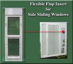 sliding glass door insert images