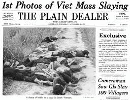 「massacre at My Lai, helped turn many in the United States against the Vietnam War」の画像検索結果