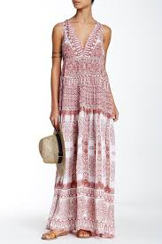Rococo Sand Size Chart Rococo Sand Embellished Crochet Inset Maxi Dress