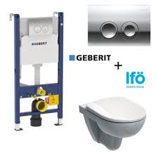 Инсталляция Geberit Duofix Delta 458.124.21.1 + <b>унитаз IFO</b> ...