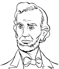 Small Picture Abraham Lincoln Presidents Day Coloring Pages Abraham Lincoln