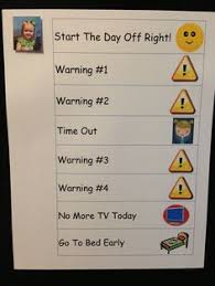 Time Out Chart For Toddlers Good Way To Discipline Kids Parenting Baby Kids