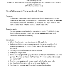 outline example of character sketch essay resume magnificent example of character sketch essay heavenly writing a character sketch essay sample character sketch essay