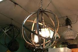 metal sphere chandelier metal sphere chandelier industrial sphere chandelier metal strap globe hanging light metal sphere