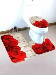 red bath rug bathroom rugs set red bath rugs bathroom sets 2 piece bathroom rug set