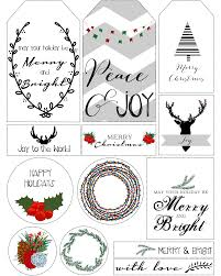 printable christmas labels happy holidays christmas printable labels 15