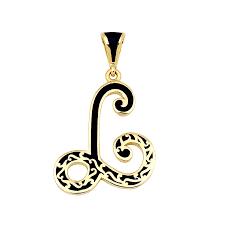 L R Designs Resm Jewelry L Letter
