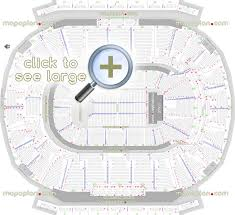 detailed seat row numbers end se concert sections floor plan map arena lower club press level