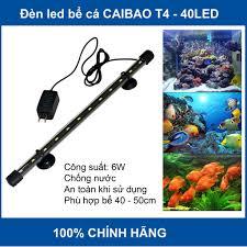 Đèn led bể cá Caibao T4-40LED siêu sáng dùng cho bể 40 - 50cm