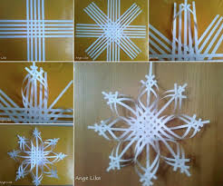 How To Make A 3d Snowflake Upscale Tutorials How To Make Christmas Snowflakes From