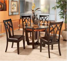 marvelous 47 round wood dining table set aberdeen wood round dining table charming photo dining room