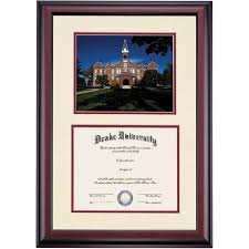 best holiday gift ideas images diploma frame  drake collegiate old main photograph diploma frame drake university drake university diploma frames ocm