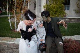 i have to say with frankenstein and bride of frankenstein it is all about the makeup and hair the clothes are the easiest parts the frankenstein makeup