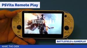 PSVita Remote Play BattleField 1 Gameplay