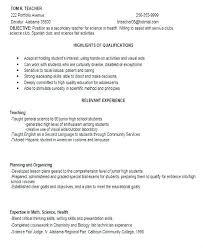 Skills For Teacher Resume Inspiration Biology Teacher Resume 48 Pdf Biology Teacher Resume Examples