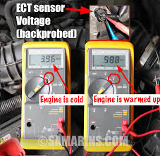 engine coolant rature sensor how