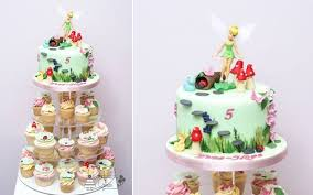 Small Picture flower fairy cake by Candytuft Cakes Kiddo Cakes and Sweets