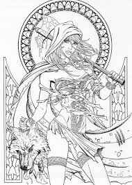 Grimm Fairy Tales Coloring Page Grimm Fairy Tales Coloring Pages