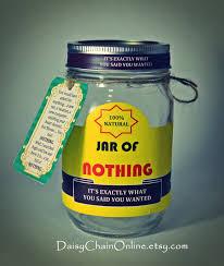 printable labels for diy jar of nothing diy gift for boyfriend friend gifts for men f