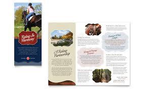 Summer Camp Pamplets Camp Brochure Template Design Kids Summer Camp Flyer Ad Template