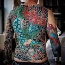 японские татуировки Mike Rubendall