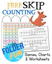 Free Skip Counting Chart And Worksheets Bonus Fun Games