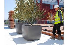 commercial planters large interior