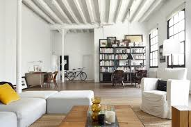 Industrial Style Living Room Furniture Style Loft Cool Style Loft Interior A New York Loft With