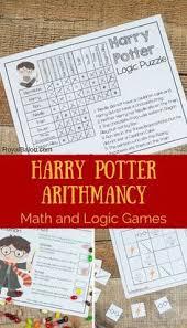 Harry Potter Arithmancy Math And Logic Fun Hp Classroom