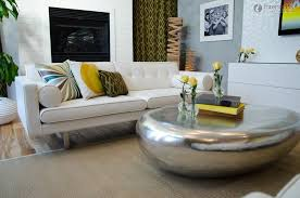 Living Room Table Decorating Furniture Coffee Table Decorating Ideas With Modern Glass Table