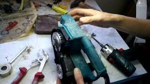Ремонт шлифмашины <b>makita</b> 9910 - YouTube