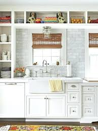 soft turquoise glass subway tile against the marble backsplash for countertop best white cabinets and countertops