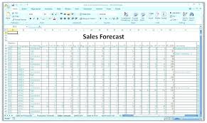 How To Forecast In Excel Sales Forecast Excel Template Rome Fontanacountryinn Com