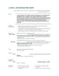 Certified Nurse Resume Resume Template For Nursing Best Of Resume