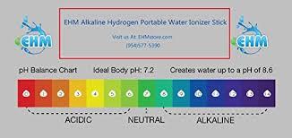 Alkaline Ph Chart Ehm Alkaline Ph Water Filter Stick Small Portable Hydrogen Mineral Purifier Tourmaline Germanium Maifanshi Stones Naturally Increases Ph Levels