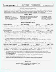 Resume Examples Restaurant Manager