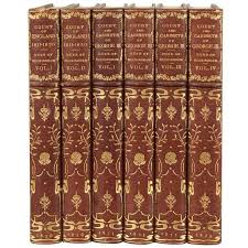 english royal history in six volumes beautifully bound in brown  english royal history in six volumes beautifully bound in brown tooled leather 1