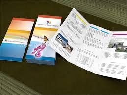 Tri Fold Samples German Business Brochure Design Free Inspiration Samples