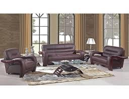 zane leather sofa review alpha modern brown