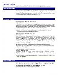 Sample Security Manager Resume 17 Supervisor Nardellidesign Com