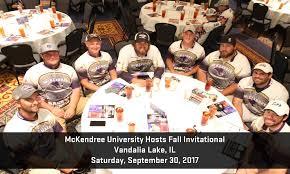 mckendree university hosts fall invitational