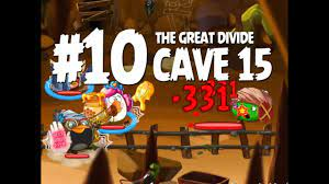 Angry Birds Epic Cave 15 Final Boss - Level 10 - The Great Divide - 3 Star  Walkthrough - YouTube