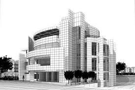 modern office building. simple modern modern office building exterior 3d model intended s