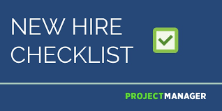 New Hire It Checklist The Perfect New Hire Checklist Use This Free Template